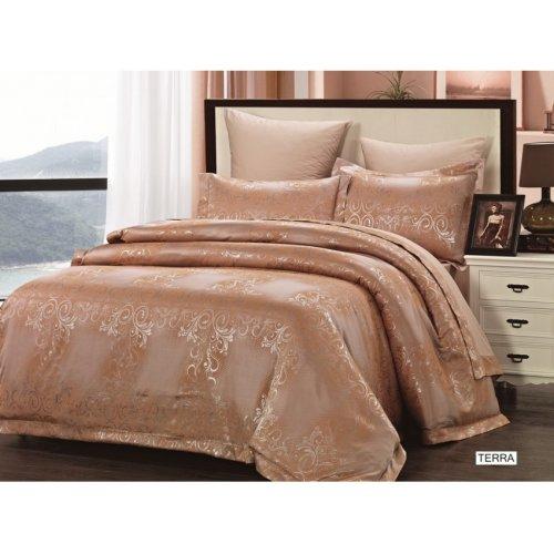 Двуспальный комплект постельного белья Arya Pure Terra 200х220