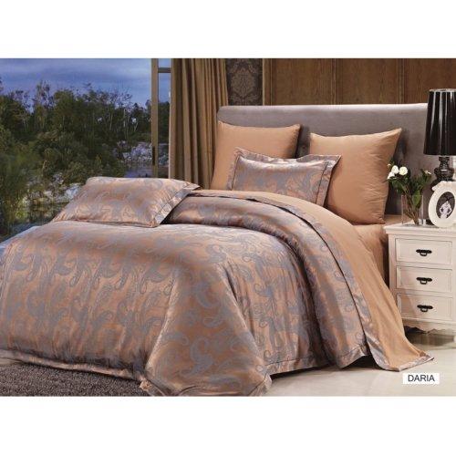 Двуспальный комплект постельного белья Arya Pure Daria 200х220