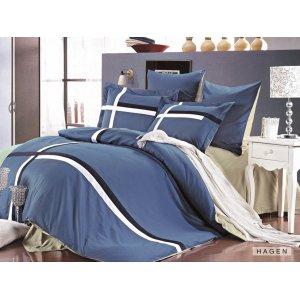Двуспальное постельное белье Arya Jouful Line Hagen 200х220