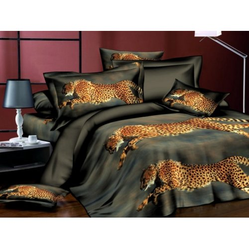 Двуспальное постельное белье Arya Classi Sontra печатное 200х220