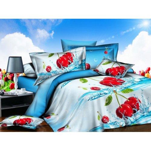 Двуспальное постельное белье Arya Classi Mayen печатное 200х220