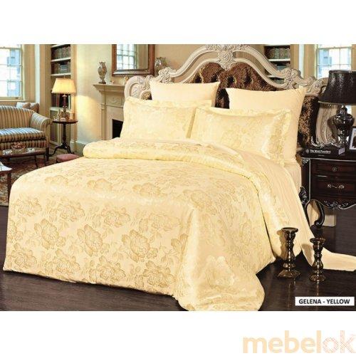 Семейный комплект постельного белья Arya Classi Gelena 160х220