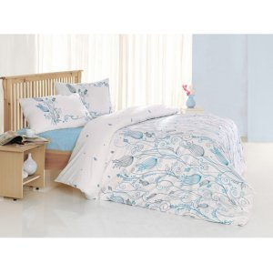 Полуторный комплект постельного белья Altinbasak Ceylin 160х220