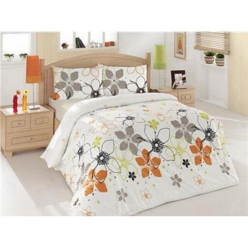 Полуторный комплект постельного белья Altinbasak Ebru 160х220