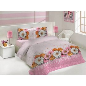 Полуторный комплект постельного белья Altinbasak Romantik 160х220