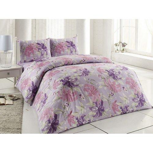 Полуторный комплект постельного белья Altinbasak Zambak 160х220