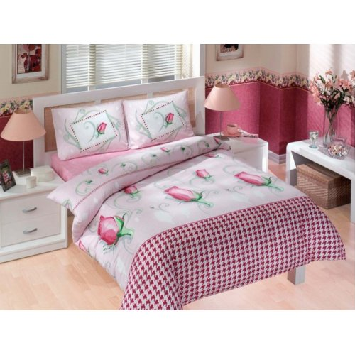 Двуспальный комплект постельного белья Altinbasak Laura  200х220
