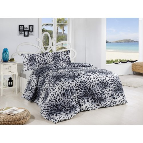 Двуспальный комплект постельного белья Altinbasak Leopar 200х220