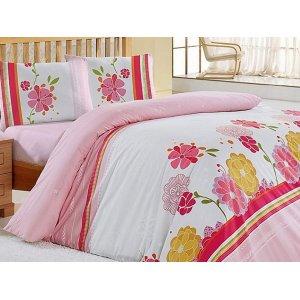 Двуспальный комплект постельного белья Altinbasak Lily 200х220