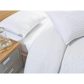 Полуторный комплект постельного белья Arya сатин жаккард для отеля 160х220