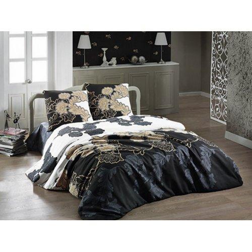 Полуторный комплект постельного белья Arya Floblack 160х230 в коробке