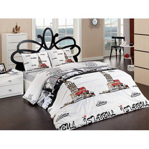 Двуспальный комплект постельного белья Arya Istanbul 200х230 в коробке