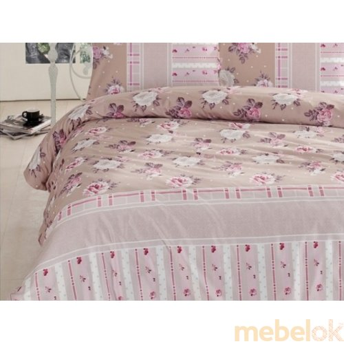 Двуспальный комплект постельного белья Altinbasak Misk 200х220