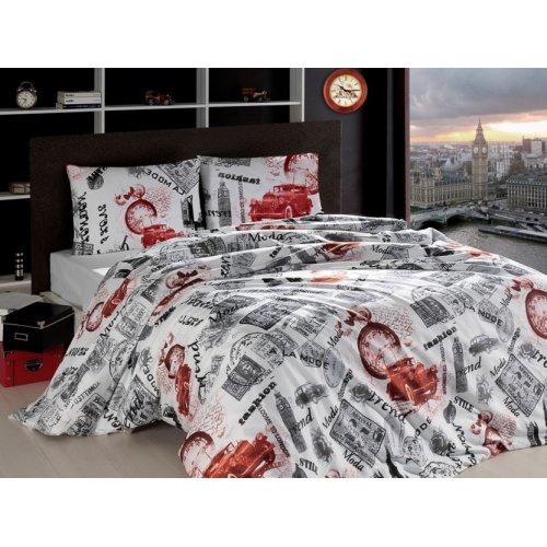 Семейный комплект постельного белья Altinbasak London 160х220
