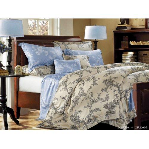 Полуторное постельное белье Arya Duera печатное 160х220