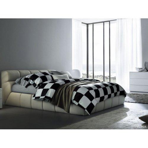 Полуторное постельное белье Arya Pavlina печатное 160х220