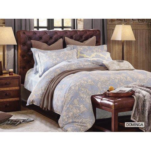 Полуторное постельное белье Arya Dominga печатное 160х220
