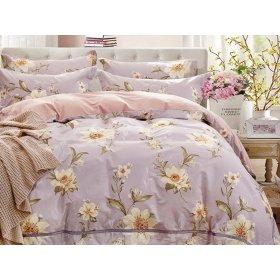 Двуспальное постельное белье печатное Arya Federico 200х220