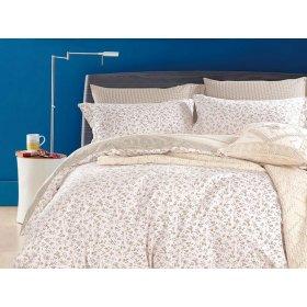 Двуспальное постельное белье печатное Arya Felix 200х220