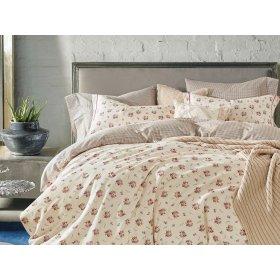 Двуспальное постельное белье печатное Arya Gavino 200х220
