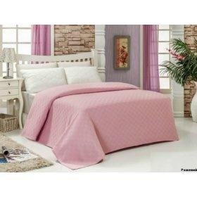 Покрывало Arya 160х240 розовое Dama