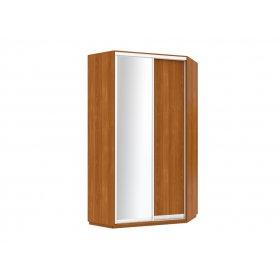 Угловой шкаф-купе 120х120х240 1 дверь ДСП + зеркало