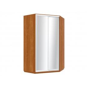 Угловой шкаф-купе 135х240х135 см 2 двери зеркальные