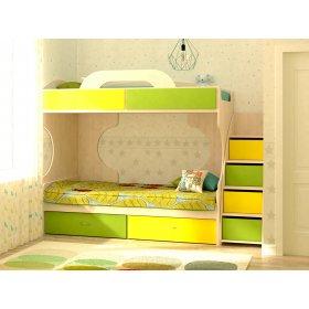 Двухъярусная кровать Dori Lime