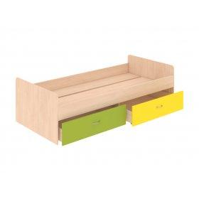 Кровать нижняя с выдвижными ящиками 90х200 Dori Lime