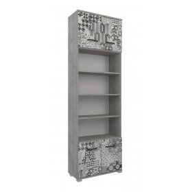 Книжный шкаф АРТ-Фьюжн АФ-Ш07