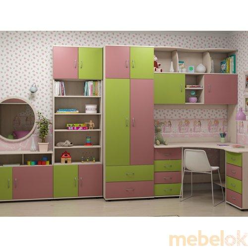 Зеркальное отображение - Комплект мебели Dori pink