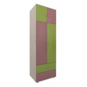 Шкаф 70х220х54 Dori pink
