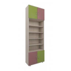 Шкаф книжный 70х220х30 Dendy pink