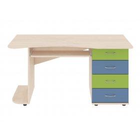 Компьютерный стол 140х74х74 Dori blue