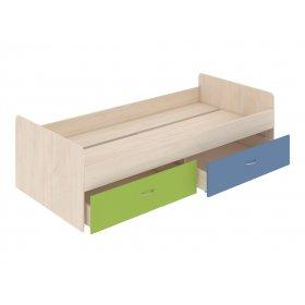 Кровать нижняя с выдвижными ящиками 90х200 Dori blue