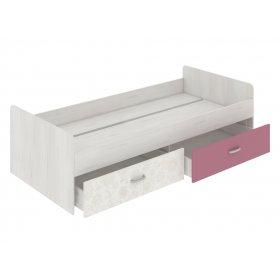Кровать нижняя с выдвижными ящиками 90х200 Dori Rose