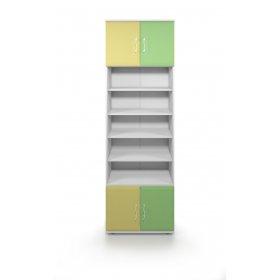Книжный шкаф открытый D Колорит
