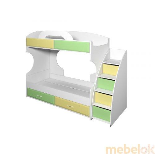 Двухъярусная кровать Колорит