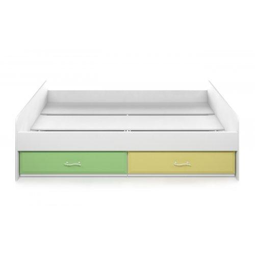 Кровать с ящиками Колорит