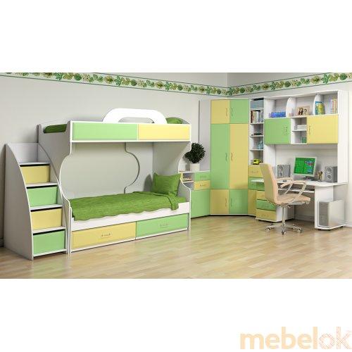 Зеркальное отображение - Детская спальня Колорит