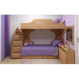 Двухъярусная кровать Jerry-A