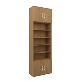 Шкаф книжный 70х220х30 КВЕСТ-A
