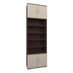 Шкаф книжный 70х220х30 КВЕСТ-C