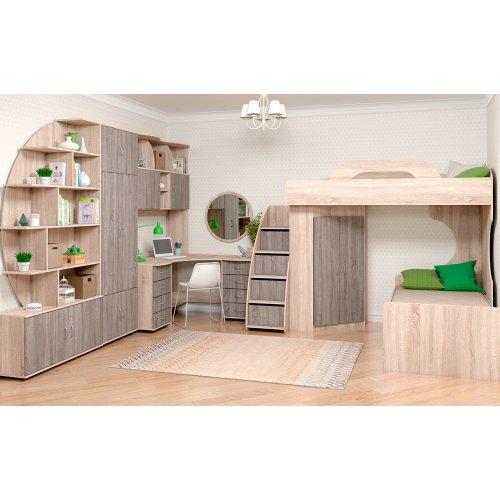 Ліжко верхнє 90х200 КВЕСТ-S. Купити ліжко верхнє 90х200 КВЕСТ-S в інтернет-магазині МебельОк.
