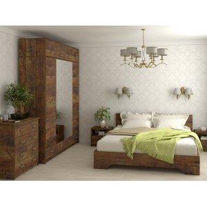 Белый гарнитур для спальни Ассоль-3. Купить в интернет-магазине мебели МебельОк по доступной цене
