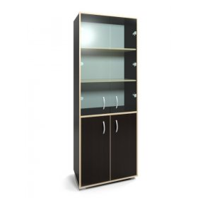Шкаф офисный со стеклом Босс NW-11