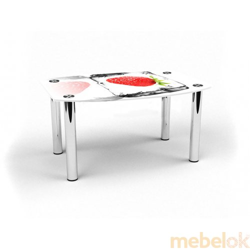 Журнальный стол бочка Ice berry 70х53 від фабрики БЦ стіл