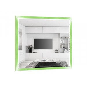 Квадратное зеркало Адель B08-F 80х80