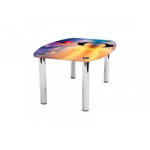 Журнальный стол бочка Ocean 110х83