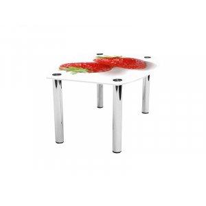 Журнальный стол бочка Red berry 110х83
